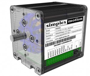 SimplexMotion100A CAD picture