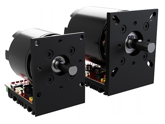 image of two black servo motors