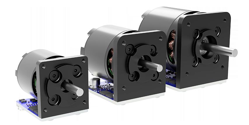 image of three servo motors